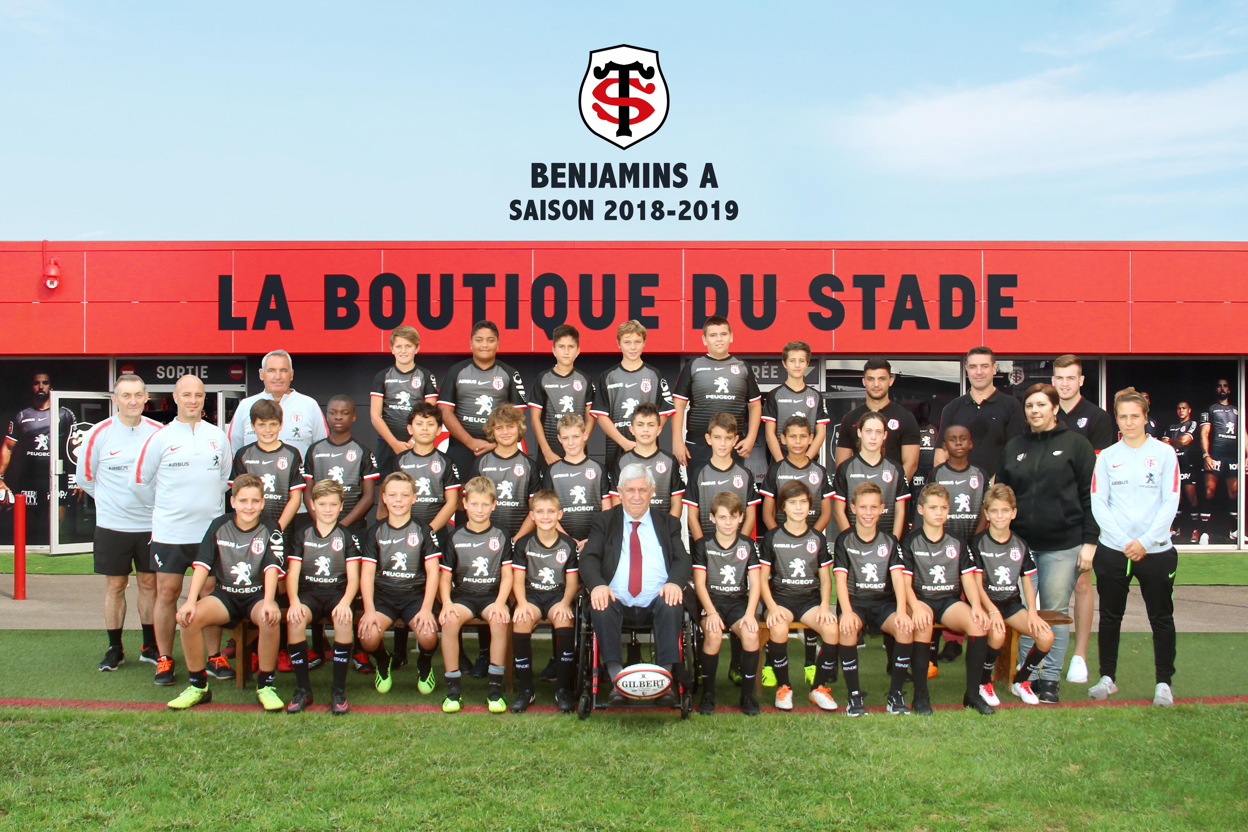 Calendrier Stade Toulousain 2019.St Benjamins A Association Du Stade Toulousain