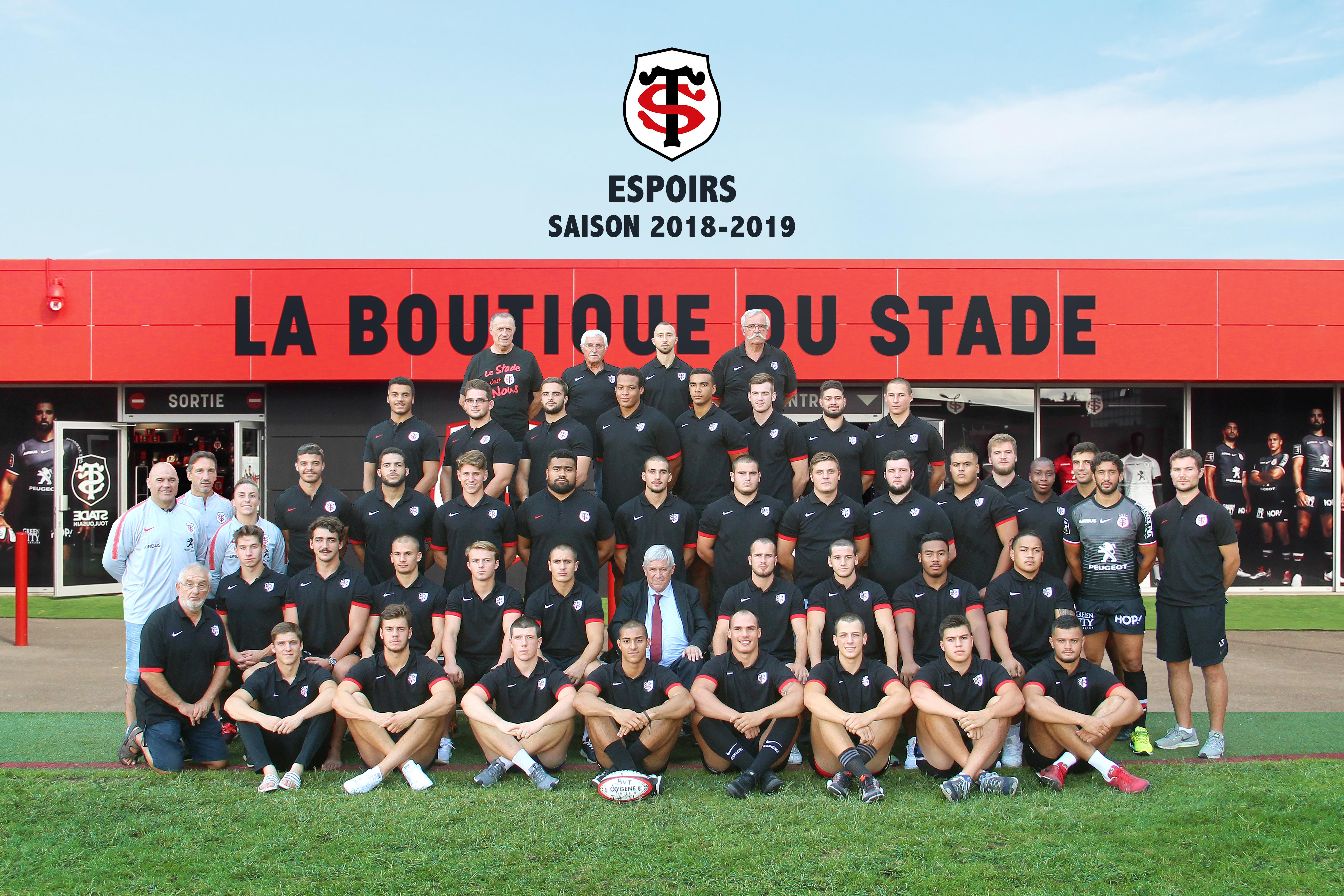 Calendrier Stade Toulousain 2019.St Espoirs Association Du Stade Toulousain